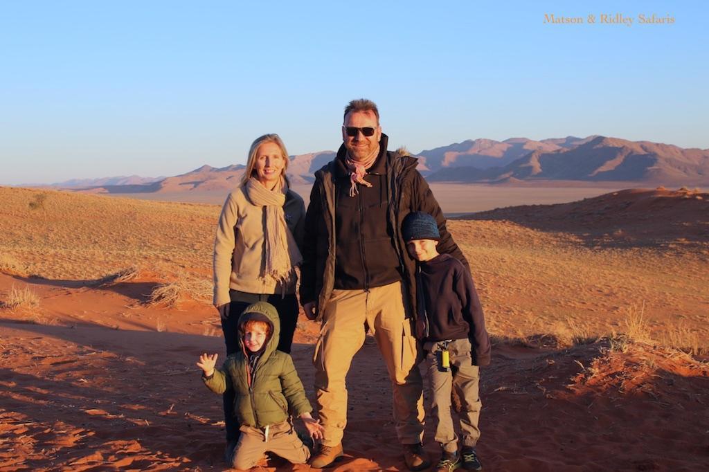 family NamibRand website