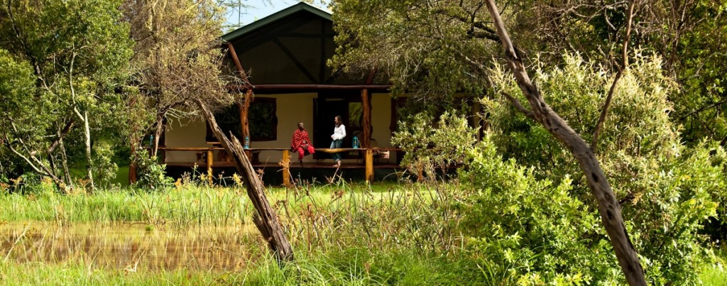 One of the Mara Bush Houses from the outside (credit: Asilia)