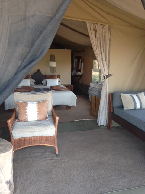 Gorgeous rooms at Naibosho Camp